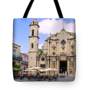 Cathedral Of The Virgin Mary Of The Immaculate Conception Tote Bag