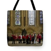 Cathedral People Tote Bag
