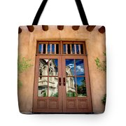 Cathedral Reflected Tote Bag