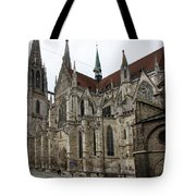 Cathedral Regensburg Tote Bag