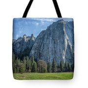 Cathedral Rock And Spires Tote Bag