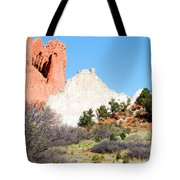 Cathedral Rock In Garden Of The Gods Park Tote Bag