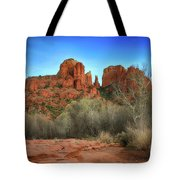 Cathedral Rock In Sedona Tote Bag
