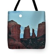 Cathedral Rock Moon 081913 E2 Tote Bag