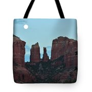 Cathedral Rock Moon 081913 G Tote Bag