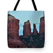 Cathedral Rock Moon 081913 H Tote Bag