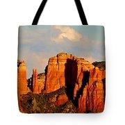 Cathedral Rock Panorama Tote Bag