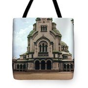 Cathedral Saint Alexandar Nevski Tote Bag