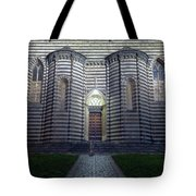 Cathedral Side Door Orvieto Italy Tote Bag