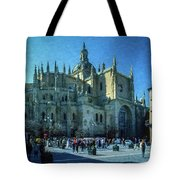 Cathedral, Spain Tote Bag