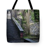 Cathedral Stairs Tote Bag