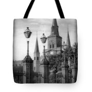Cathedral Through Gateway Tote Bag