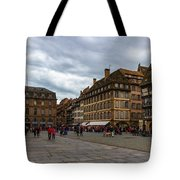 Cathedrale Notre-dame Or Our Lady Place, Strasbourg, France Tote Bag