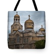 Cathedral,varna,bulgaria Tote Bag
