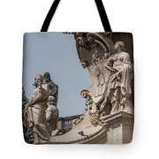 Catherine And Agnes Tote Bag