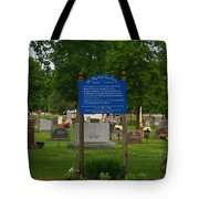 Catholic Cemetery Tote Bag