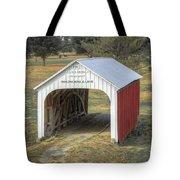 Catlin Covered Bridge  Tote Bag