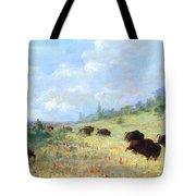 Catlin: Elk & Buffalo Tote Bag