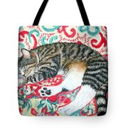 Catnap Time Tote Bag