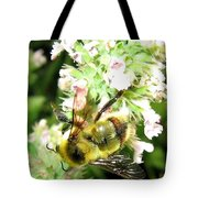 Catnip And The Bee Tote Bag