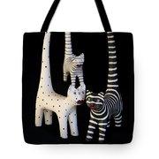 Cats At Night Tote Bag