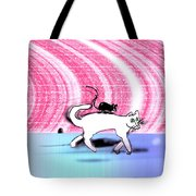 Cats Don't Hang Out With Mice Tote Bag