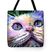 Cats Eyes 2 Tote Bag