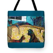 Cats Hangin' Out  Tote Bag