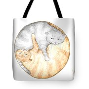 Cat's Harmony Tote Bag