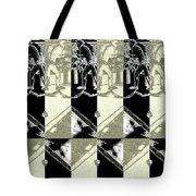 Cats Negative Tote Bag