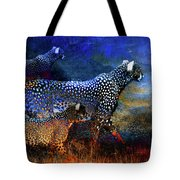 Cats On The Prowl Tote Bag
