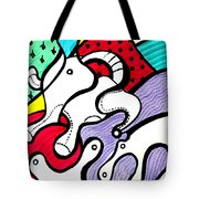 Cat's Visions Tote Bag