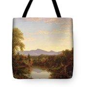 Catskill Creek - New York Tote Bag by Thomas Cole