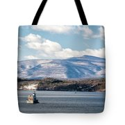 Catskill Mountains With Lighthouse Tote Bag