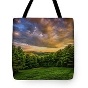 Catskill Sunset Tote Bag