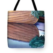 Catspaw With Wreath Tote Bag
