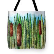 Cattails 1 Tote Bag