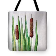 Cattails 2 Tote Bag