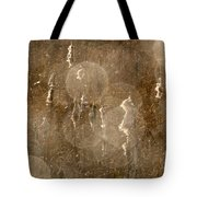 Cattails In Snowstorm 5 Tote Bag