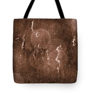 Cattails In Snowstorm 8 Tote Bag
