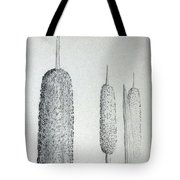 Cattails 4 Tote Bag