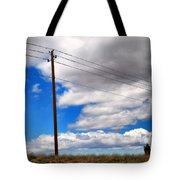 Cattle Chaser Tote Bag