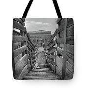 Cattle Chute Tote Bag
