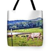 Cattle Farm Tote Bag