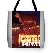 Cattlemen's Neon Stock Yards Tote Bag
