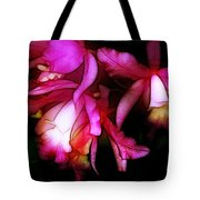 Cattleyas Tote Bag by Judi Bagwell