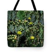 Catus Blossoms Tote Bag