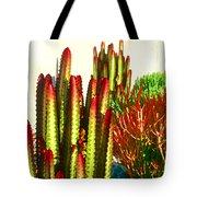 Catus Garden Tote Bag