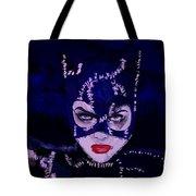 Catwoman Michelle Pfeiffer Burton Tote Bag