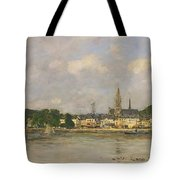 Caudebec-en-caux The Dock Of The Seine Tote Bag